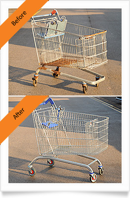 3 trolley before and after our services